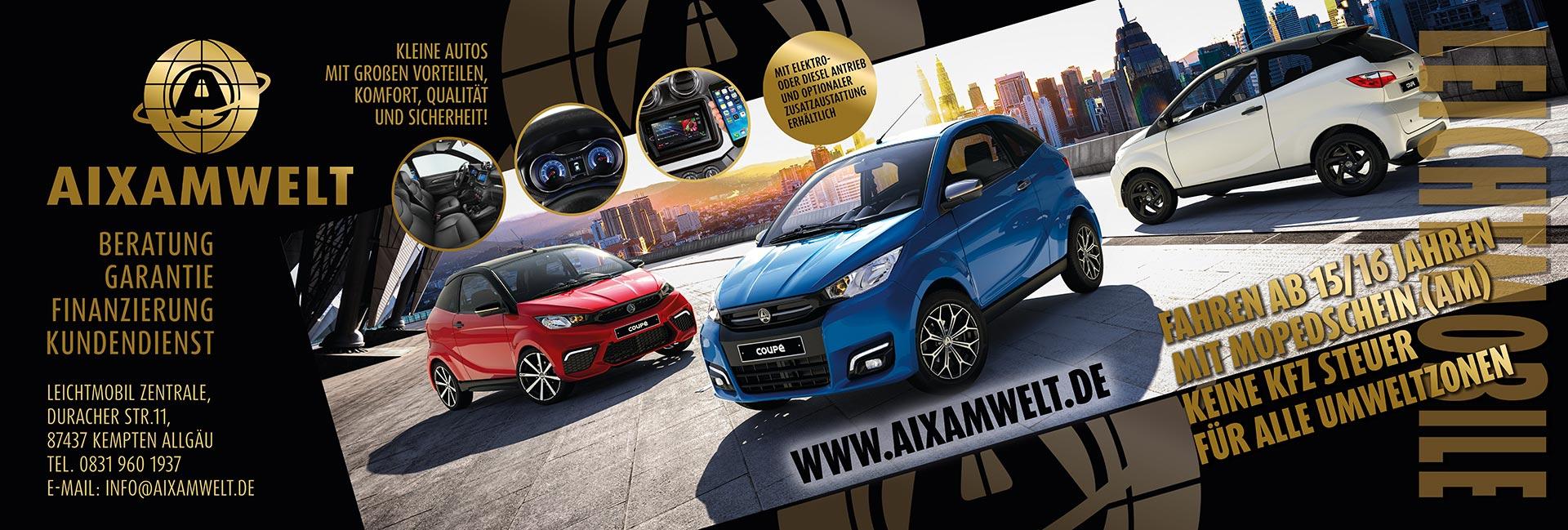 AIXAMWELT die Welt der Leichtmobile
